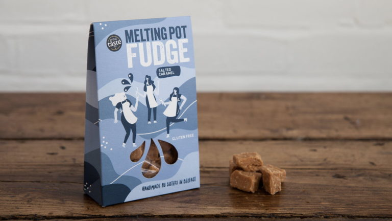 melting pot fudge blue