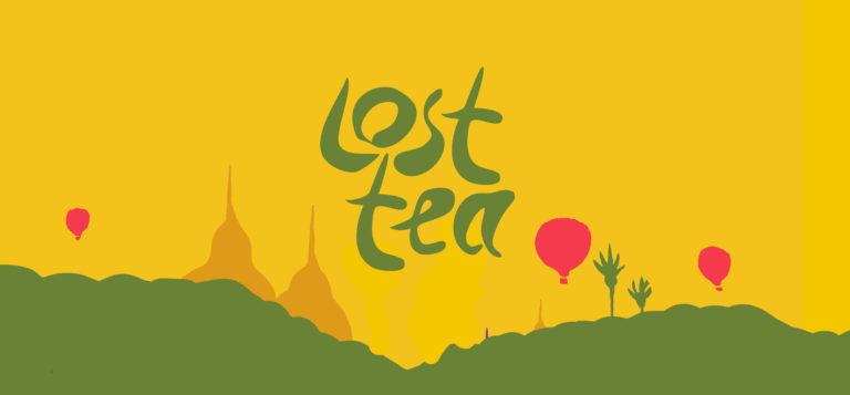 lost tea company branding shrewsbury